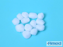 Absorbent Disposable Organic Cotton Balls