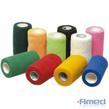 Colored Non-woven Self Adhesive Cohesive Bandage