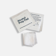 Disposable Alcohol Prep Swab for single use