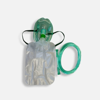 Oxygen Mask with Reservoir & Tubing (Adult)